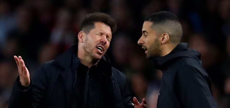 Arsenal fans completely split over Simeone as option to replace Wenger
