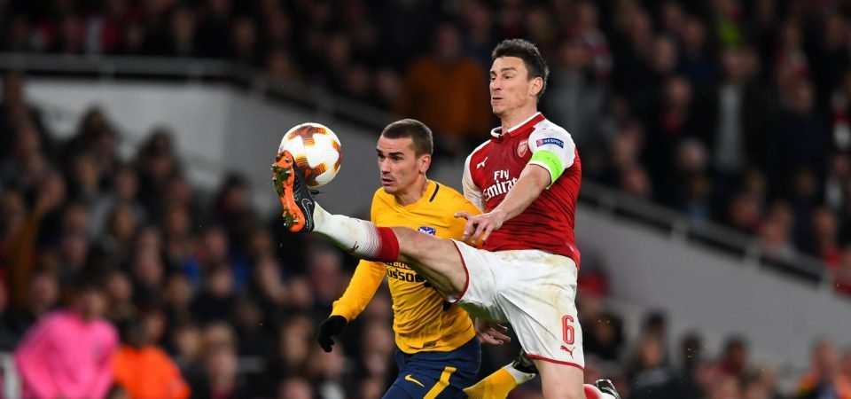 Arsenal fans take to social media to discuss Koscielny's future
