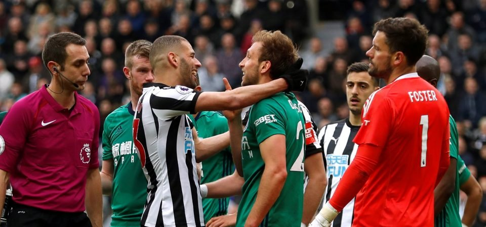 Newcastle fans react to Slimani charge