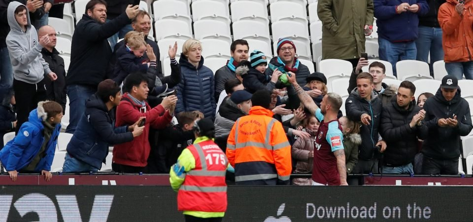 Arnautovic escapes criticism from West Ham fans