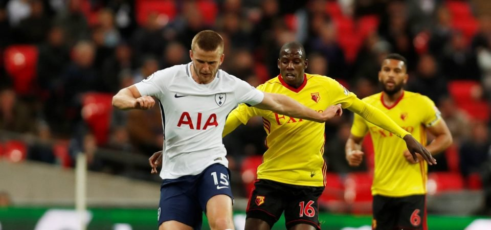 Tottenham fans furious with Dier performance