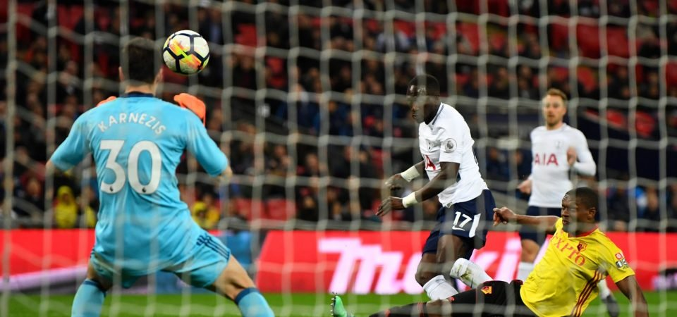 Tottenham fans blast Sissoko following Watford clash