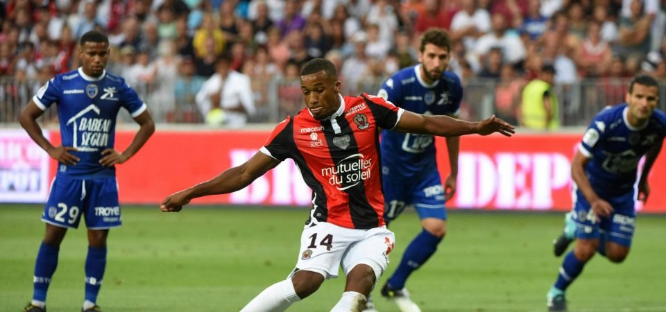 Alassane Plea is showing enough in France to justify Everton interest