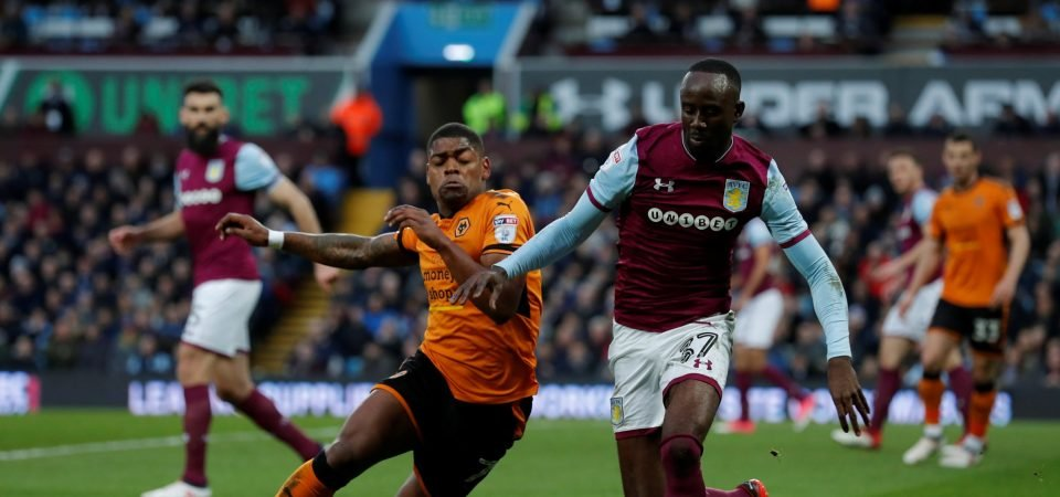 Aston Villa fans react to Adomah speculation