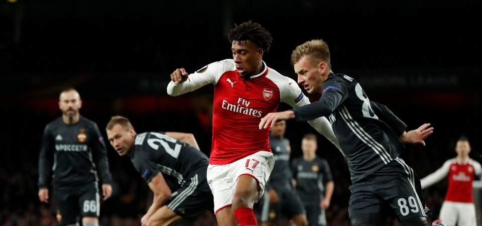 Arsenal fans were delighted with Iwobi's performance vs Southampton