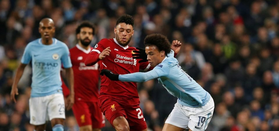 Liverpool fans loved Alex Oxlade-Chamberlain's contribution vs City