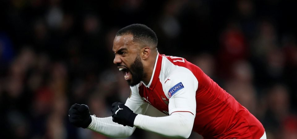 Emery would be making huge mistake selling Arsenal forward Lacazette