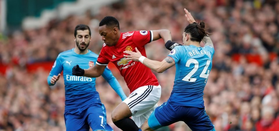 Man United fans want to see Martial in the team next week