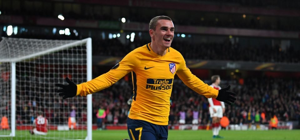 Manchester United fans call for Griezmann after training video