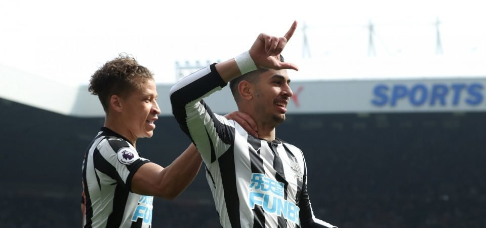 Revealed: The three players who impressed Newcastle fans most vs Arsenal