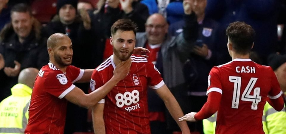 Nottingham Forest fans were delighted by Ben Brereton's Tuesday performance