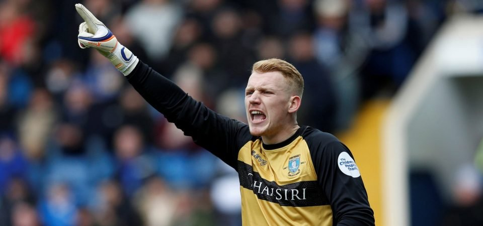 Sheffield Wednesday fans loved Cameron Dawson's performance away to Wolves