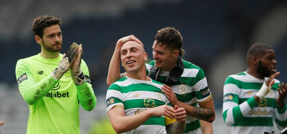 Rodgers confirms Brown close to agreeing new Celtic deal