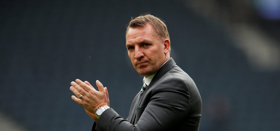 Brendan Rodgers shuts down talk of him leaving Celtic this summer