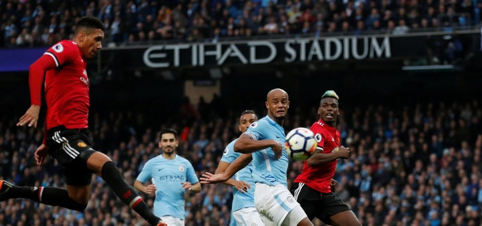 Manchester United fans were impressed with Smalling turnaround vs City