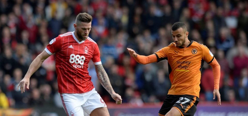 Nottingham Forest fans slam Daryl Murphy after poor Saturday display