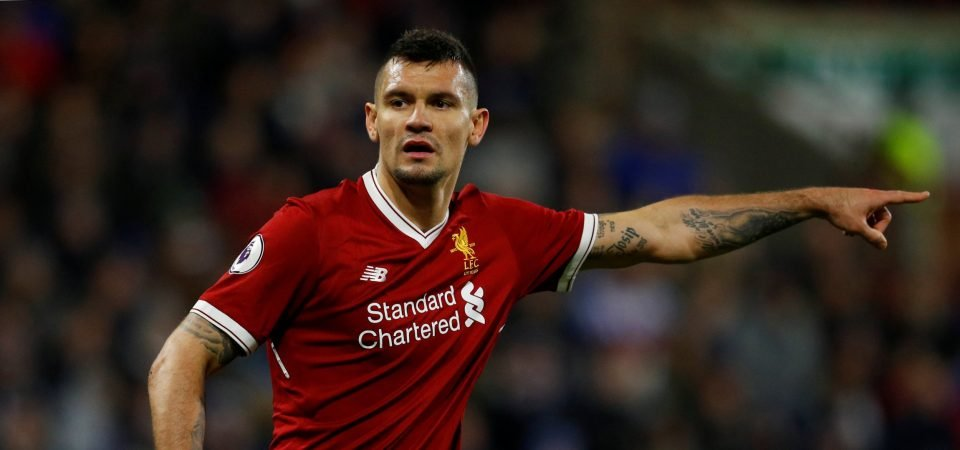 Liverpool fans are worried about extent of Dejan Lovren's injury