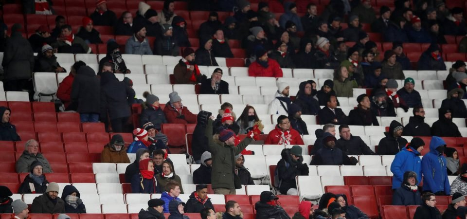 Empty seats a damning indictment on how Arsenal have lost the ability to entertain