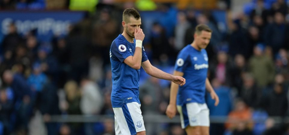 Everton fans bash Schneiderlin for disappointing season