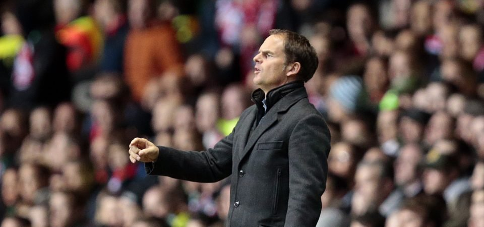 Frank de Boer would be a fantastic appointment at Ibrox