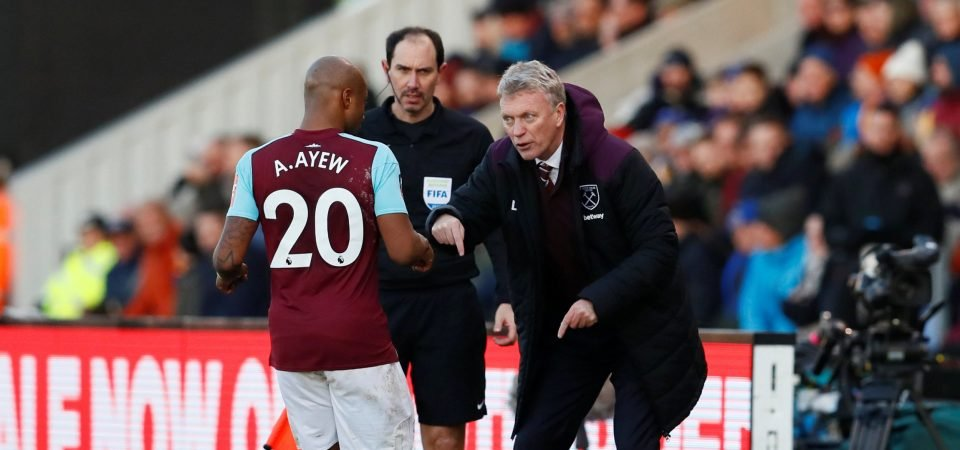 Newcastle fans hate links to Andre Ayew