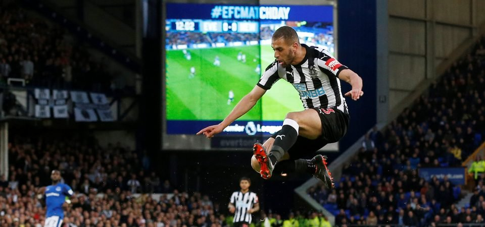 Newcastle fans want Mitrovic back over Slimani