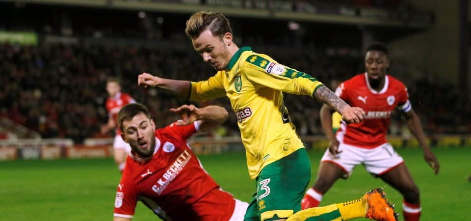 James Maddison looks ready to fill Rooney's boots at Everton