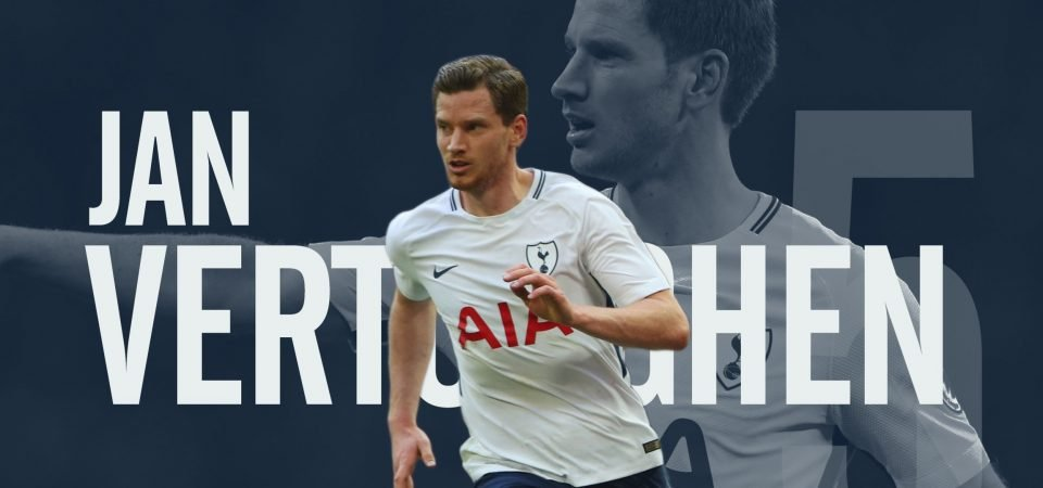 Vertonghen makes an incredibly strong case for being the best left-footed centre-back around