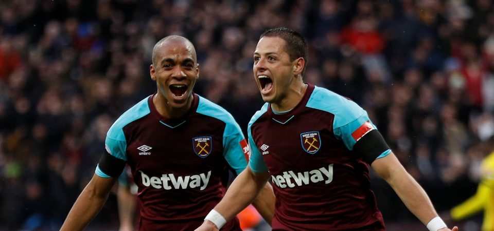 West Ham will remain without Hernandez against Man United