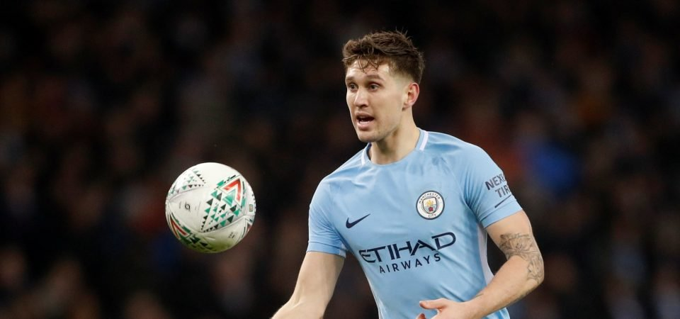 John Stones is turning into the ideal Pep Guardiola footballer