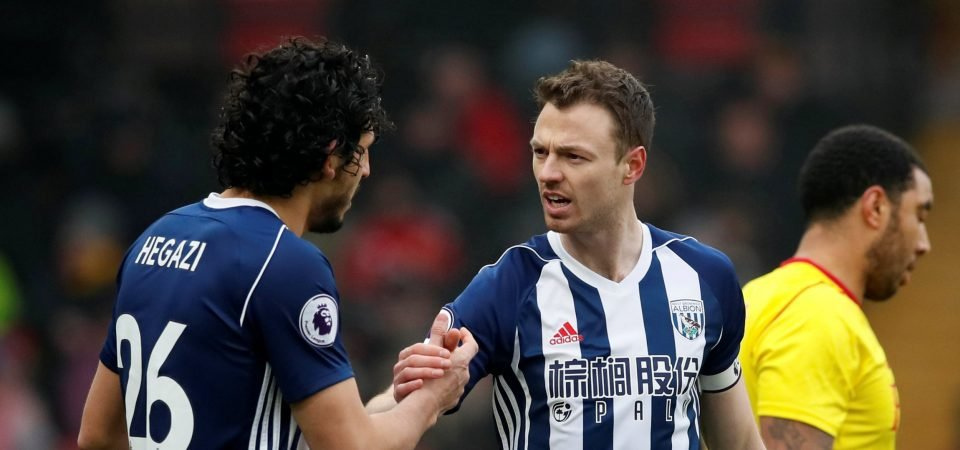 Newcastle target Jonny Evans would be the ideal partner for Jamaal Lascelles