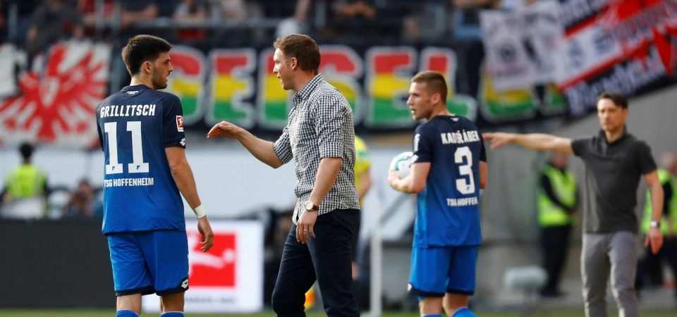 The Arsenal job may have come a little too soon for Julian Nagelsmann