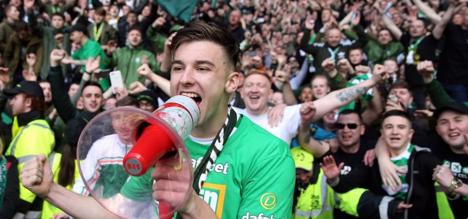 Tierney's love for Celtic will make it hard for interested clubs to secure his signature