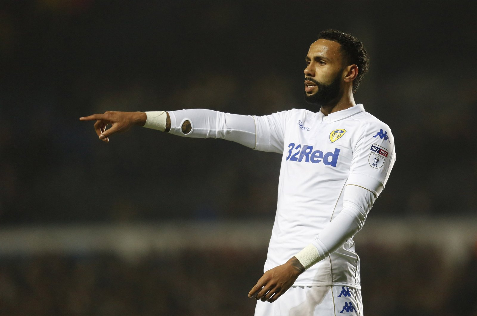 Kyle Bartley in action for Leeds United