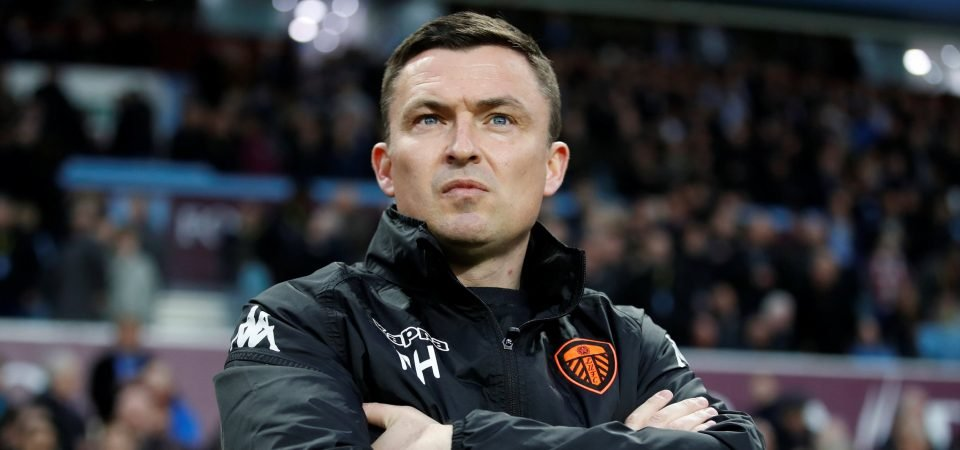 Leeds fans react as Heckingbottom in talks to become Hibernian boss
