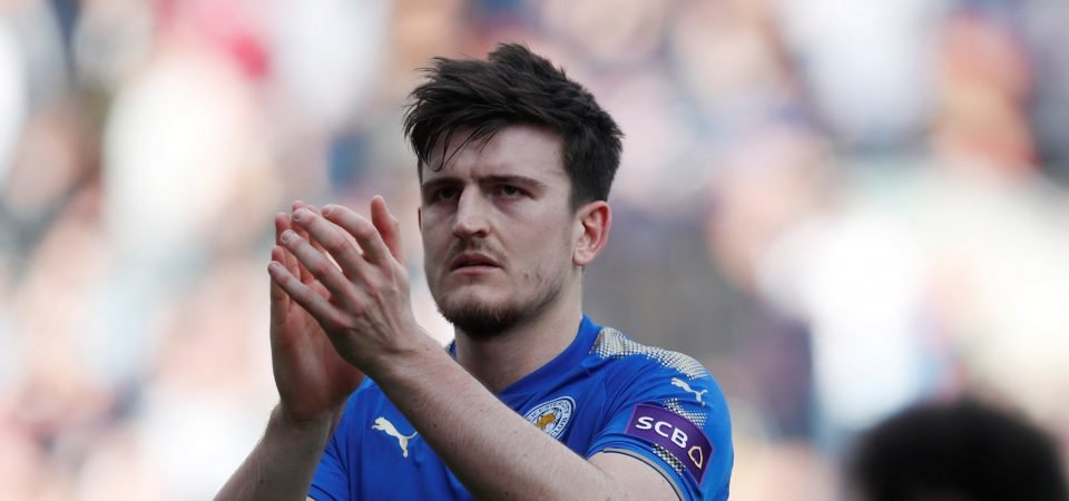 Leicester fans on Twitter react to Harry Maguire staying at the King Power
