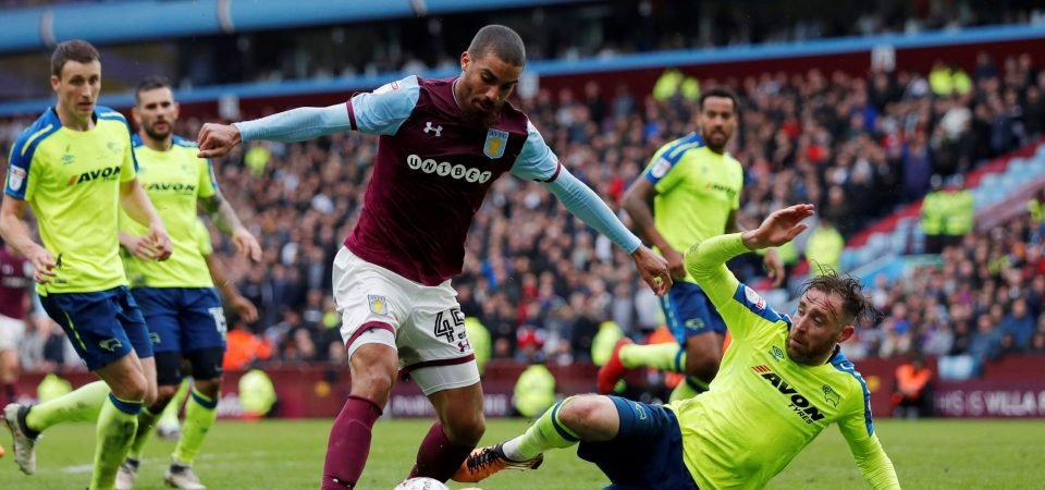 Aston Villa fans wish Lewis Grabban luck for his next move