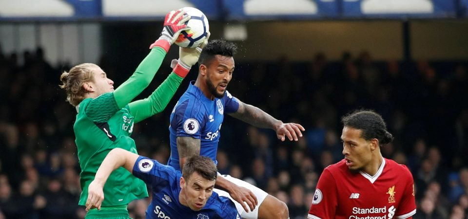 Liverpool fans loved Karius' contribution in derby draw