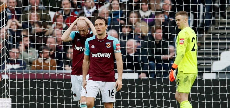 Revealed: Majority of West Ham fans want to sign an upgrade on Mark Noble
