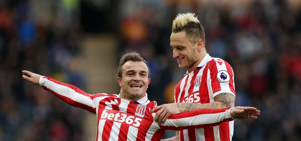 Arnautovic should tip Shaqiri race in West Ham's favour