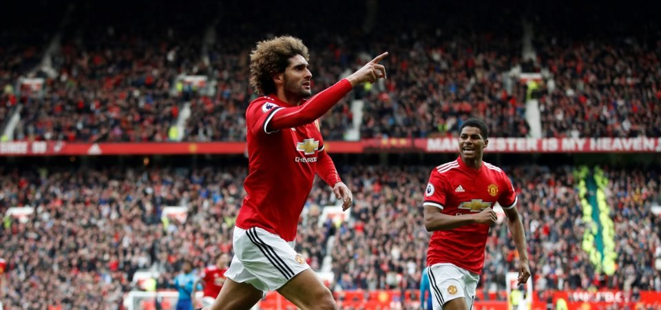Some Man United fans want Fellaini to stay at the club after winning goal vs Arsenal