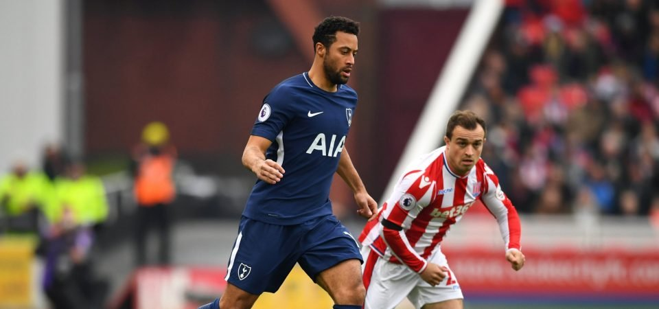 Tottenham fans were overjoyed with Dembele's performance vs Stoke