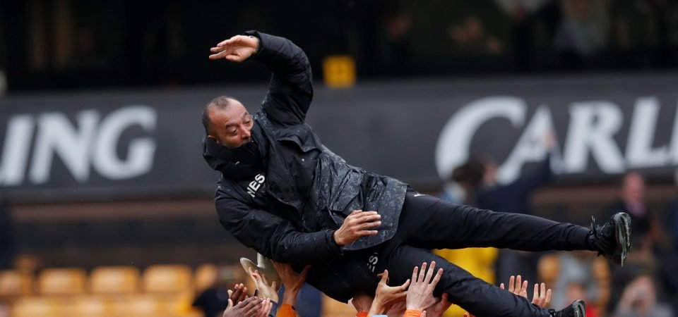 Wolves fans are ecstatic with Nuno signing a contract extension