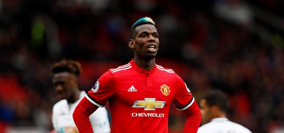 Man United supporters react as PSG weigh up summer swoop for Pogba