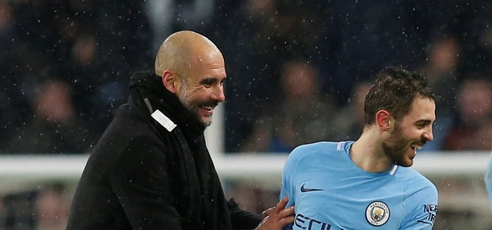 Revealed: Majority of Man City fans would start Bernardo Silva instead of Sterling vs Spurs