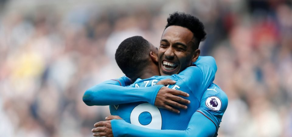 Aubameyang gives Wenger options in attack with positive display from left flank