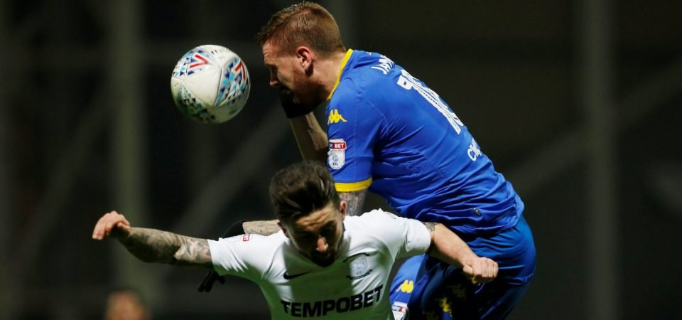 Leeds United fans were not impressed with Pontus Jansson on Tuesday night