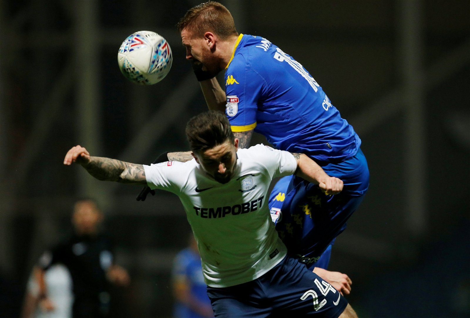 Pontus Jansson in action for Leeds United