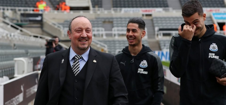 Newcastle fans hate Benitez Leicester links