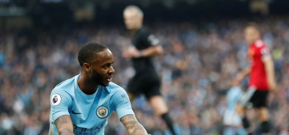 Manchester City fans hit out at media criticism of Sterling's gun tattoo
